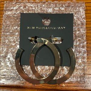 Gold New York & Company earrings